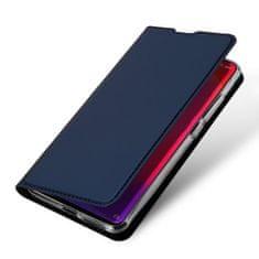 Dux Ducis Skin Pro knížkové kožené pouzdro pro Xiaomi Mi 9T / Mi 9T Pro, modré