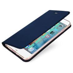 Dux Ducis Skin Pro knížkové kožené pouzdro pro iPhone 5/5S/SE, modré