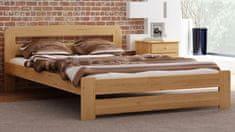 Importworld Dřevěná postel Květa 120x200 + rošt ZDARMA - borovice