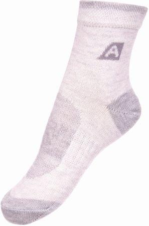 ALPINE PRO 3RAPID 2 otroške nogavice, S, bele