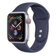 BStrap Apple Watch Soft Silicone 38/40mm řemínek, Midnight Blue
