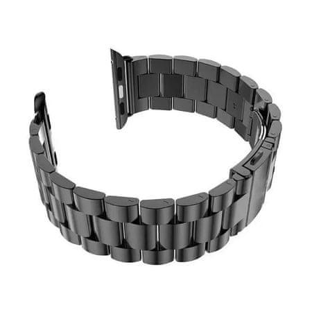 BStrap Apple Watch Stainless Steel Boston 38/40mm szíj, Black