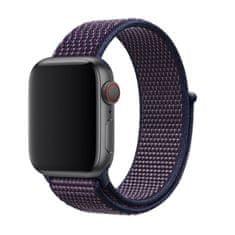 BStrap Apple Watch Nylon 42/44mm szíj, Purple