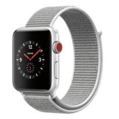 BStrap Apple Watch Nylon 38/40mm szíj, Silver