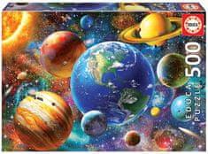 EDUCA Solar system 500 dielikov