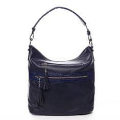 Romina & Co. Bags Jemná dámská pohodlná kabelka Baptiste modrá