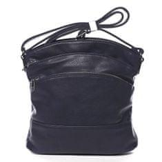 Romina & Co. Bags Praktická dámská crossbody se zipy Isidore modrá