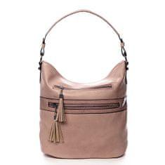 Romina & Co. Bags Jemná dámská pohodlná kabelka Baptiste růžová