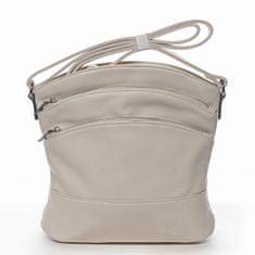 Romina & Co. Bags Praktická dámská crossbody se zipy Isidore béžová