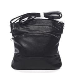 Romina & Co. Bags Praktická dámská crossbody se zipy Isidore černá