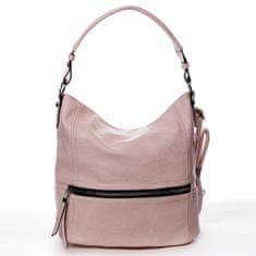 Romina & Co. Bags Dámská pohodlná koženková kabelka Jules růžová