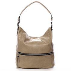 Romina & Co. Bags Dámská pohodlná koženková kabelka Jules zemitá