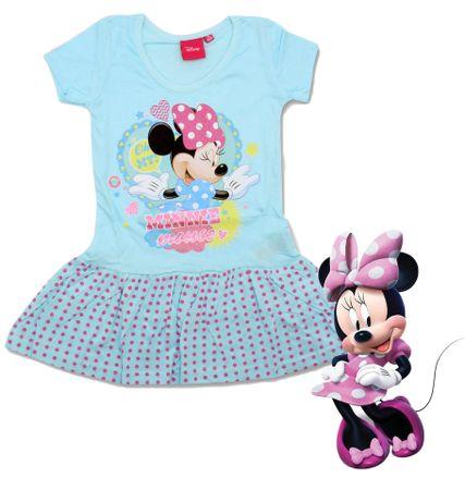 """SETINO Sukienka dla dzieci """"Myszka Minnie"""" - niebieski - 128 / 7–8 rokov"""
