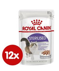 Royal Canin vrećice za mačke Sterilised Loaf, 12x85 g