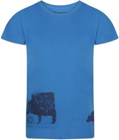 ALPINE PRO NEJO 2 fantovska majica, 152 - 158, modra