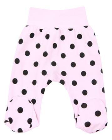 Nini dekliške hlače za dojenčke, 68, roza