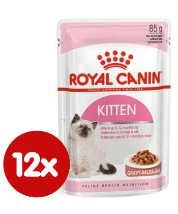 Royal Canin Kitten Instinctive Gravy 12x85 g