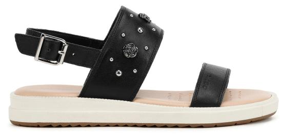 Geox dievčenské sandále REBECCA J02BLE_00085_C9999, 31, čierna