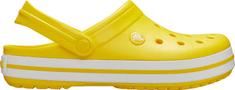 Crocs Kapcie damskie ze Crocband Lemon / White 11016-7B0