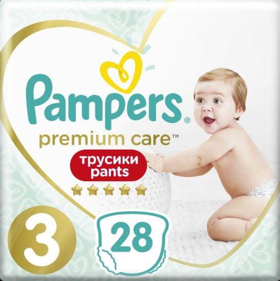 Pampers Premium Care Pants 3 (6-11 kg) 28 ks