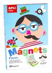 Apli Edukační hra s magnety - tváře