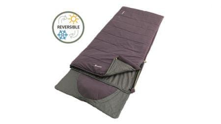 Outwell vreća za spavanje Sleeping bag Contour Dark Purple