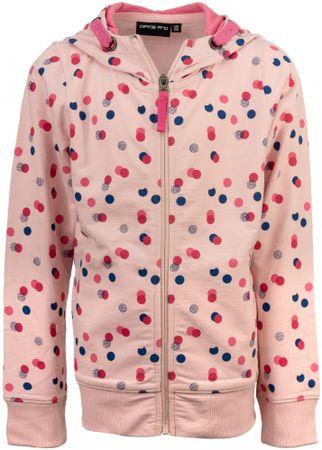 ALPINE PRO bluza dziewczęca POKO 116 - 122 różowa