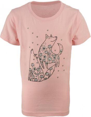 ALPINE PRO VALIANTO dekliška majica, 116 - 122, roza