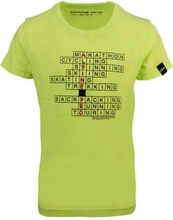 ALPINE PRO RIALDO fantovska majica, 92 - 98, svetlo zelena
