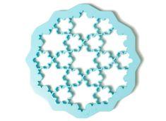 Lékué Vykrajovací forma na sušenky Lekue Sněhové vločky