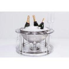 KARE Chladiaca nádoba na víno Champagne Time (set 2ks)