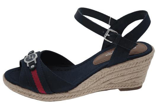 Tom Tailor dámske sandále 8090901 43 tmavomodrá