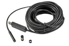 Energy Inspekční endoskop s kamerou a USB, extra dlouhý kabel 10 m, software na CD