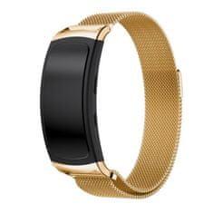 BStrap Samsung Gear Fit 2 Milanese řemínek, Gold