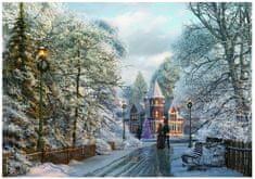 EuroGraphics Puzzle 1000 db Dominic Davison: Christmas Walk In New England