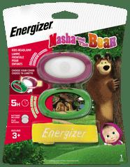 Energizer detská čelovka Masha & Bear Headlight 2 x CR2032