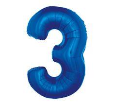 GoDan 3- kék - 92 cm-es fóliaballon