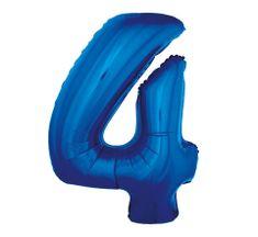 GoDan 4- kék - 92 cm-es fóliaballon