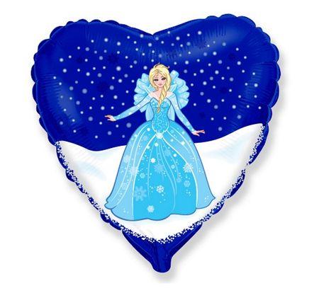 "GoDan Folijski balon srce 18 "" Frozen - Elsa"