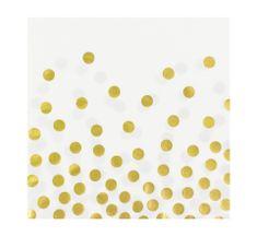 GoDan Papierové servítky biele 33x33cm - 12ks
