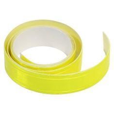 Compass Samolepící páska reflexní 2cm x 90cm, žlutá