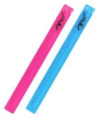 Compass Pásek reflexní ROLLER 2ks růžový + modrý