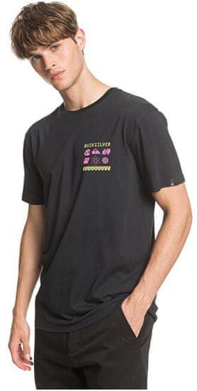 Quiksilver Pánske tričko Slow Burn Ss Black EQYZT05759 -KVJ0 (Veľkosť S)