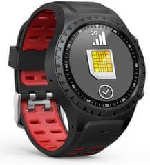 Evolveo smartwatch SportWatch M1S, czerwony