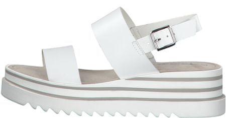 Tamaris sandały damskie 28007 36 białe