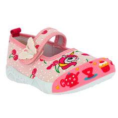 V+J dívčí obuv 130-0009-S1 pink