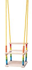 Woody Színes hinta játszószékkel