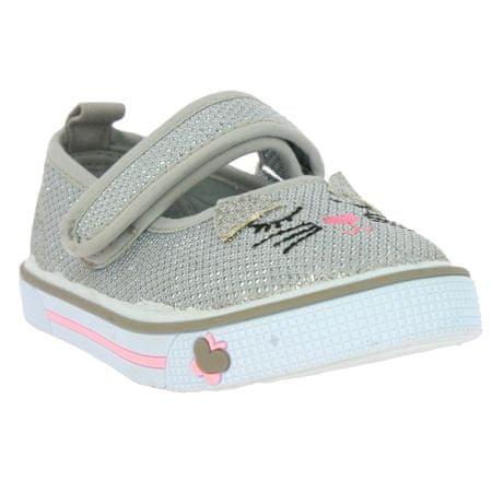 V+J lány cipő, 30-0039-T1, 24, szürke