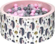 iMex Toys 3423 Suchý bazén s míčky Ježek