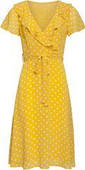Smashed Lemon Dámske šaty 20073 Yellow / White